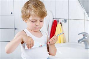 子供の歯ブラシの事故