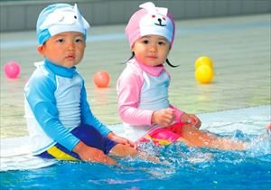 赤ちゃんのプールはいつから可能