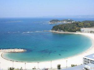 関西で人気の海の第1位:白良浜