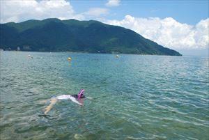 関西で人気の海の第4位:マキノサニービーチ