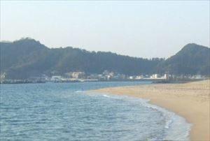 関西で人気の海の第2位:片男波海水浴場