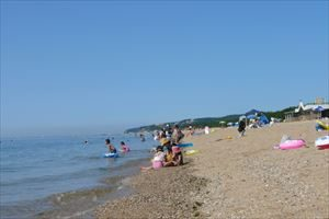 関西で人気の海の第3位:慶野松原海水浴場