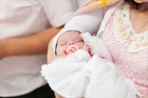 赤ちゃんのセレモニードレス