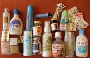 洗面用具や生活品