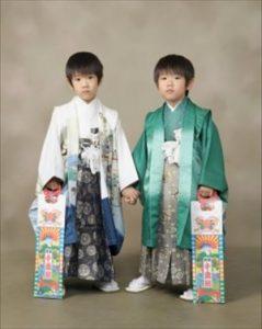 七五三の男の子の服装