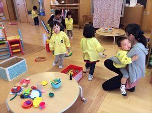 3歳児が幼稚園
