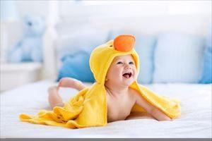 赤ちゃんが冬に湯冷めしない方法