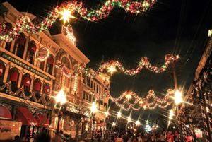 ディズニーリゾートのクリスマス