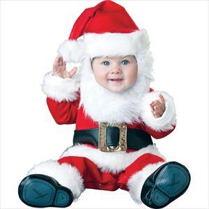 赤ちゃんのクリスマスのコスチュームの