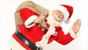 サンタクロースのプレゼントの時期