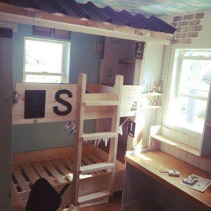 二段ベッドの作り方