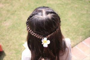 卒園式の髪型