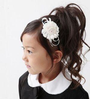 子供の入学式での女の子の人気の髪型