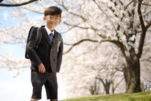 子供の服装でレンタル
