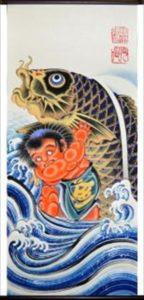 子供の日の鯉のぼり